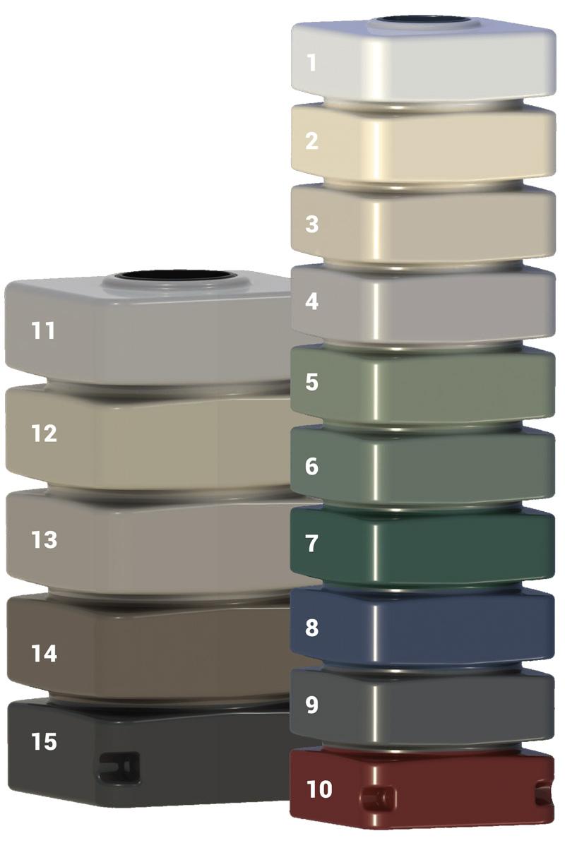 maxi tank colour range