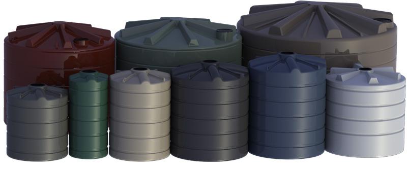 Maxiplas Round Tanks